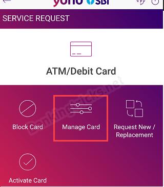 SBI Debit card International transaction use