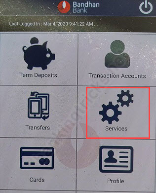 Generate Bandhan Bank ATM PIN Online