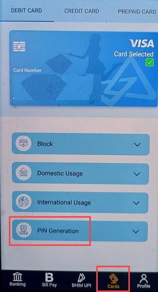 Canara Bank ATM PIN Online